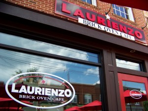 Laurienzo, got A's in my book from today's meal and service. Photo by Mike Hartley