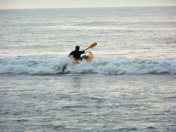 Against the Surf Photo by Mike Hartley