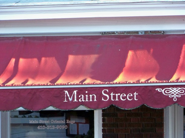 Main Street awning. Photo by Mike Hartley