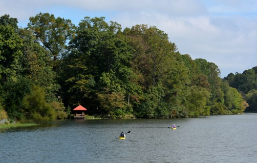 Many ways to get around the lake. Photo by Mike Hartley