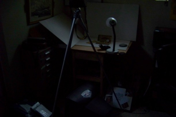 Studio went dark. Photo by Mike Hartley