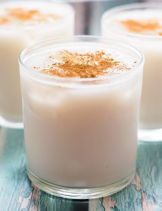 Agua de Horchata is the perfect beverage to serve during the summer. It is also great when paired with spicy food. Try it this Cinco de Mayo!