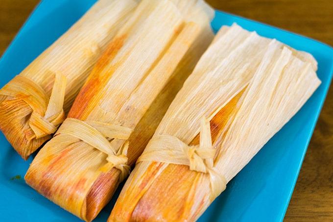 3 tamales