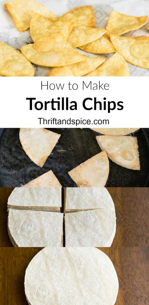 easy recipe for making tortilla chips
