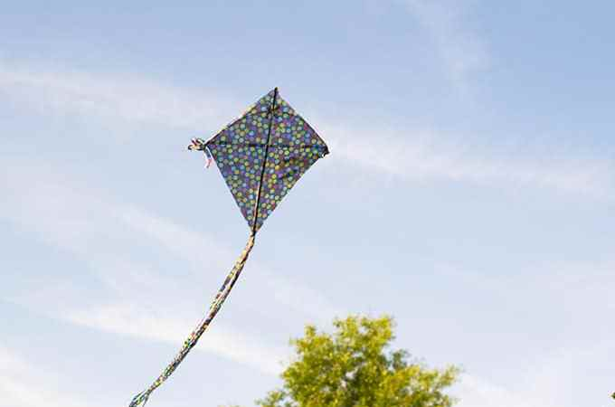 This DIY kite is a cheap, fun and easy craft the whole family can enjoy this summer.
