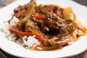 Slow Cooker Pepper Steak and Rice Recipe