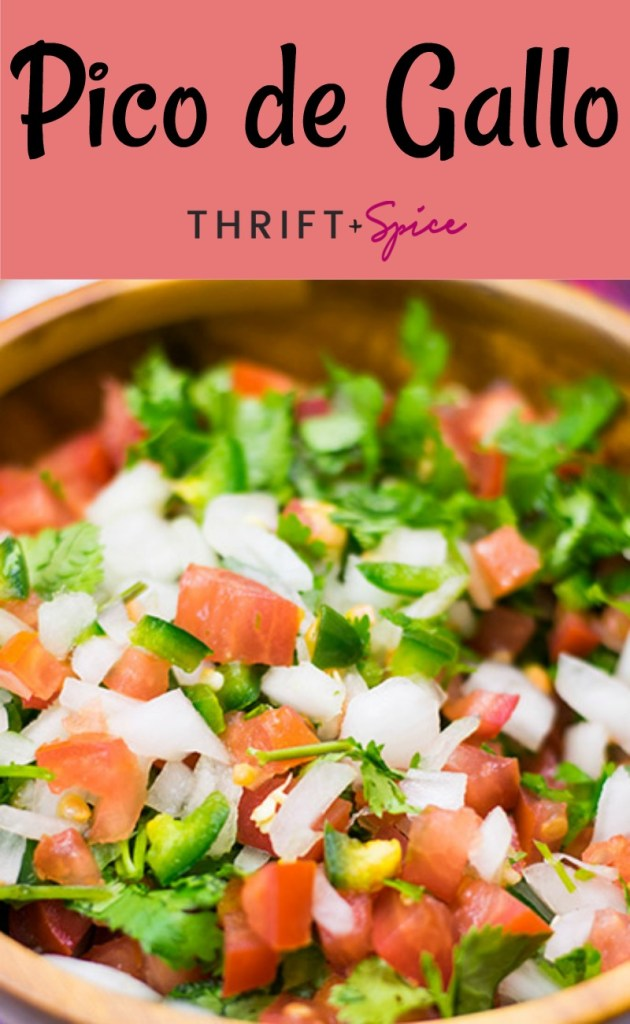 pico de gallo is a fresh and yummy salsa perfect for the summer time and goes great with all your favorite mexican food