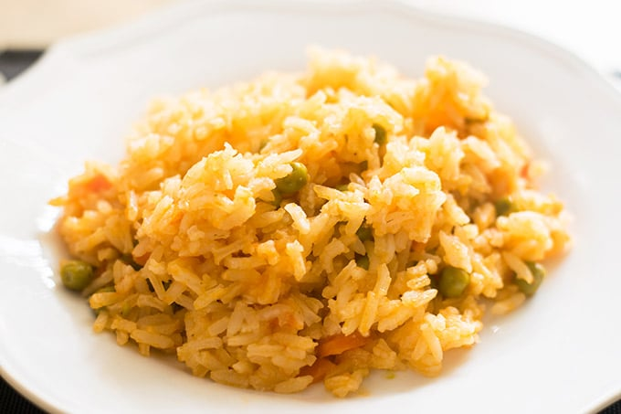 this authentic mexican rice is the perfect side dish to all your favorite mexican meals!