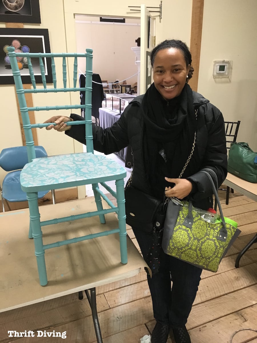 Furniture Painting Classes For Moms AND Kids