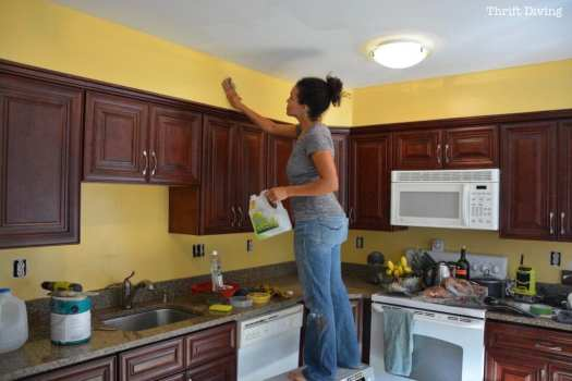 Clean The Walls With Solution Before Painting 1