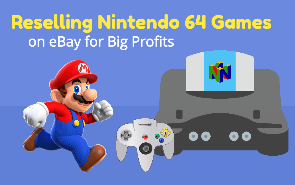 Reselling Nintendo 64 Games on eBay for Big Profits