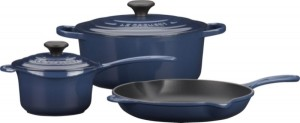 Le Creuset Ink 5-pc. Cookware Set Sweepstakes ends 4/30/13