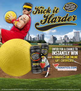 Mike's Hard Lemonade Kick It Harder Instant Win Game