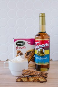 Nonni's and Torani Salted Caramel Sweepstakes