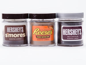 Candy scented candles