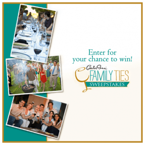 "Carlo Rossi - ""Family Ties"" Sweepstakes"