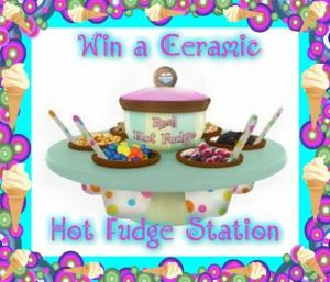 Ceramic Hot Fudge Station Giveaway