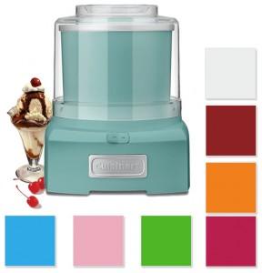 Cuisinart Frozen Yogurt, Ice Cream, & Sorbet Maker - Choice of 8 Colors