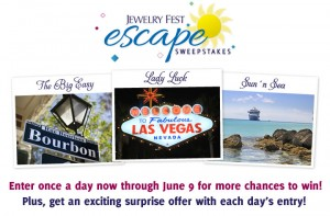 Jewelry Television Jewelry Fest Escape Sweepstakes