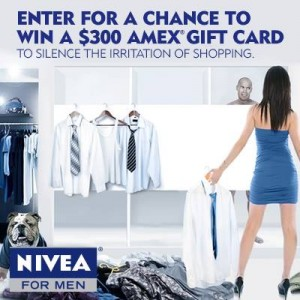 NIVEA for Men Shopping Irritation Sweepstakes