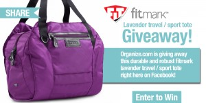 Organize FitMark Sport Tote Travel Giveaway