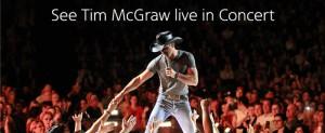 American Airlines AAdvantage Tim McGraw Concert Flyaway Sweepstakes