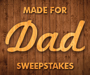 Coleman U.S.A. Made for Dad Sweepstakes