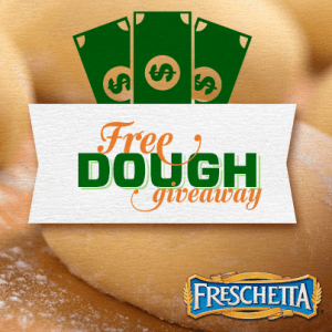 "Freshetta ""Free Dough Giveaway"" Instant Win Game"