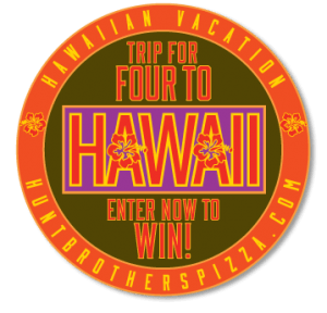 Hunt Brothers Pizza Hawaii Vacation Sweepstakes