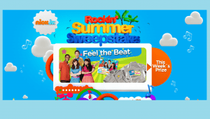 Viacom Media Networks Nick Jr.'s Rockin' Summer Sweepstakes