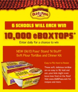 Box Tops 4 Education Old El Paso Sweepstakes