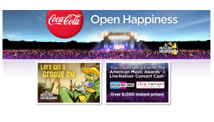 Coca-Cola Mellow Mushroom Summer Happiness Sweepstakes & Instant Win Game