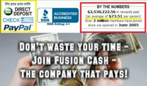 Get PAID CASH to try Products and Services