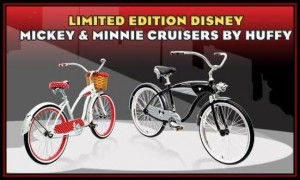 Huffy Limited Edition Mickey and Minnie Cruiser Sweepstakes