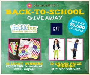 Plum District Back to School Giveaway
