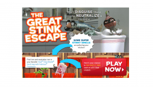 Glad The Great Stink Escape Instant Win Game
