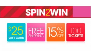 HSN - Spin to Win Sweeptakes
