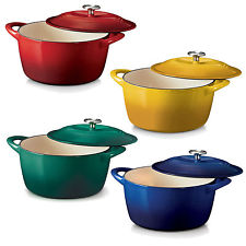 Food Network - 5.5-qt. Enamel Cast-Iron Dutch Oven as Low as $5.81 Regular $99.99!