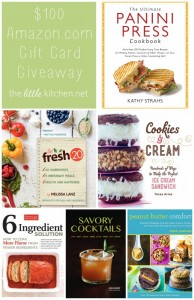The Little Kitchen $100 Amazon.com Gift Card Giveaway