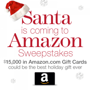 Santa is Coming to Amazon.com Sweepstakes