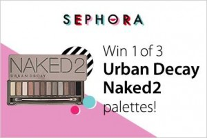 WIN 1 of 3 Urban Decay Naked2 Palette's