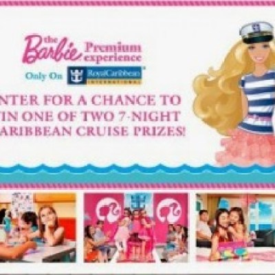 Barbie Premium Experience Royal Caribbean Sweepstakes