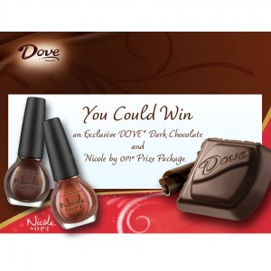 Dove Chocolate & Nicole OPI Discover Your Dark Side Sweepstakes