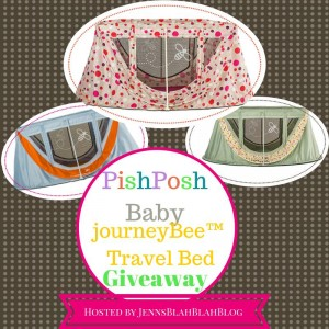A journeyBee™ Portable Crib from PishPoshBaby Giveaway