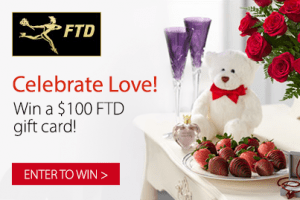 Enter to WIN a $100 FTD Gift Card