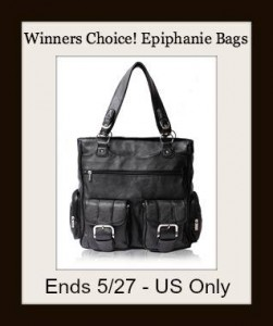 Winners Choice of Epiphanie Bag Giveaway