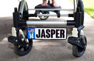Personalized Baby Stroller License Plates Giveaway - 5 WINNERS ends 5/9