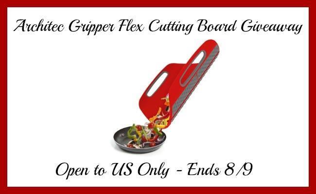 Architec Gripper Flex Cutting Board Giveaway