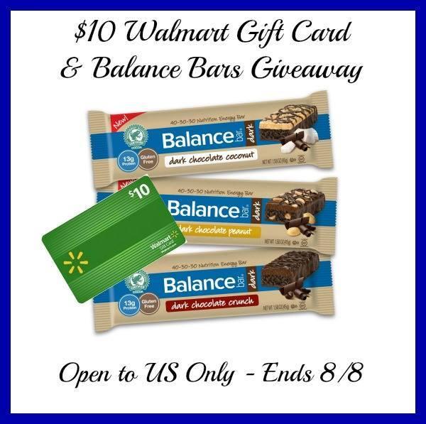 Balance Bar Prize Pack Giveaway