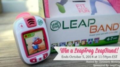 LeapFrog LeapBand Giveaway